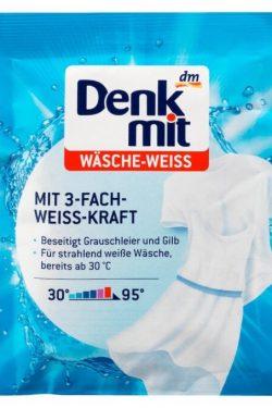 Bột Tẩy Trắng Quần Áo Denkmit Wasche Weiss, 50 g
