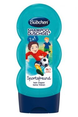 sữa tắm gội Bubchen kids shampoo duschgel sport, 230 ml