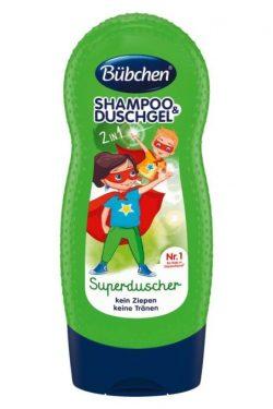 sữa tắm gội Bubchen kids shampoo duschgel superduscher, 230 ml
