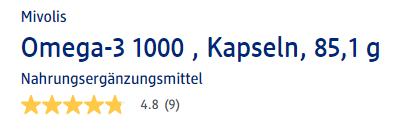 Đánh giá chất lượng Mivolis Omega-3 1000, 60 viên