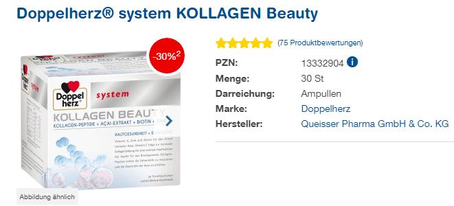 Đánh giá Collagen thủy phân Doppelherz Kollagen Beauty