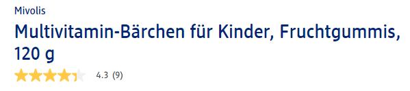 Sản phẩm được người dùng Đức đánh giá chất lượng