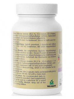 Đông Trùng Hạ Thảo Zeinpharma Cordyceps CS-4 500 mg, 120 Viên Nang