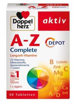 Vitamin tổng hợp Doppelherz A-Z Depot, 40 viên