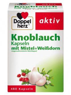 Viên tỏi Doppelherz Knoblauch Kapseln, 480 viên