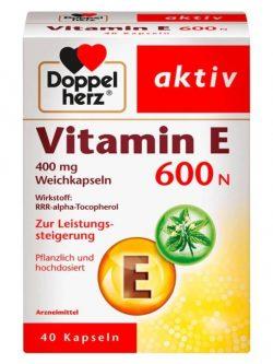 Doppelherz Aktiv Vitamin E 600N Của Đức, 40 viên