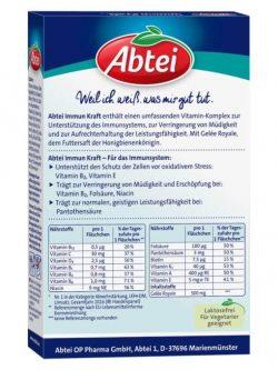 Thức uống tăng sức đề kháng Abtei Immun Kraft, 6 chai