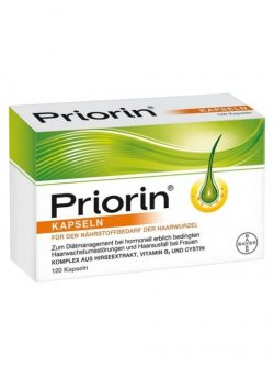 Thuốc mọc tóc Priorin, 120 viên