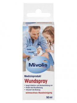 Thuốc xịt vết thương Mivolis Wundspray, 50ml