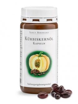 Thuốc Trị Tiểu Đêm Sanct Bernhard Kurbiskernol Kapseln, 150 viên