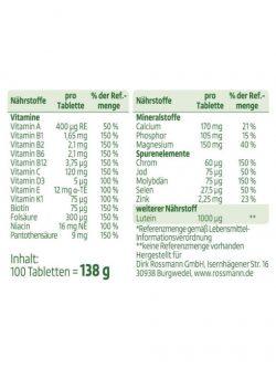 Vitamin Tổng Hợp Altapharma A Z Depot ab 50, 100 Viên