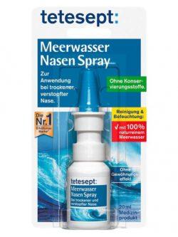 Xịt mũi muối biển Tetesept Meerwasser Nasen Spray