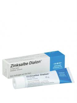 Thuốc Bôi Vết Thương Hở Zinksalbe Dialon 25g