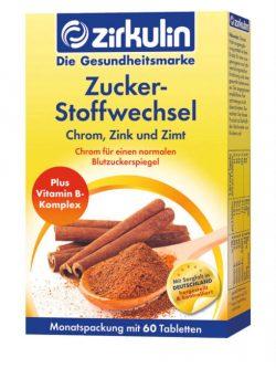 Thuốc ổn định đường huyết ZirkulinZuckerstoffwechsel, 60 viên