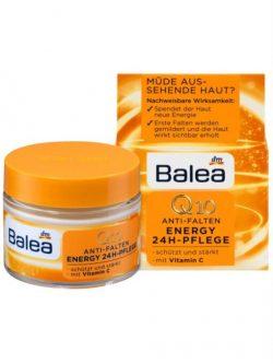 Kem dưỡng da Balea Q10 Anti Falten Energy 24h Pflege, 50ml