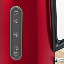 Ấm siêu tốc BoschTWK4P434 chỉ báo mực nước dễ nhìn