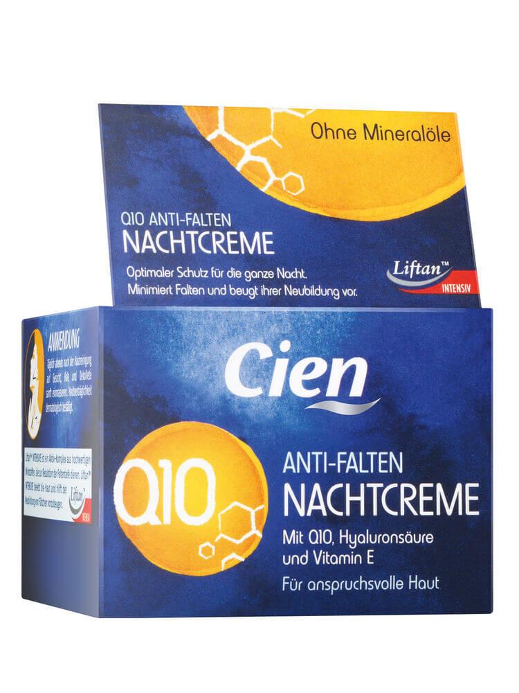 Kem Cien Q10 Anti Falten Nachtcreme Chống Lão Hóa Ban Đêm, 50 ml