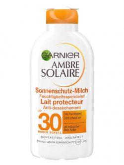 Kem Chống Nắng Garnier Ambre Solaire Sonnenschutz Milch Spf 30, 200 ml