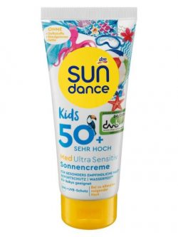 Kem Chống Nắng Sundance Kids Med Ultra Sensitive Sonnencreme Spf 50+, 100 ml