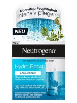Kem dưỡng ẩm Neutrogena Hydro Boost Aqua Creme, 50 ml