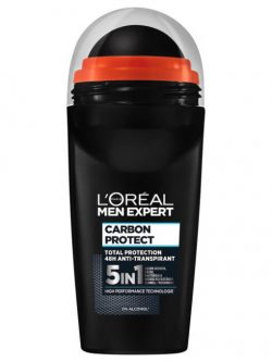 Lăn khử mùi Loreal Men Expert Carbon Protect 5in1, 50 ml