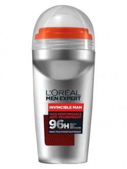 Lăn khử mùi Loreal Men Expert Invincible Man 96h, 50ml