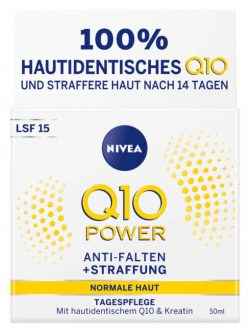 Kem Nivea Q10 Power Anti Falten Tagespflege, 50ml
